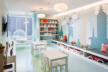 Childrens playroom - 1N4 Williamsburg New York