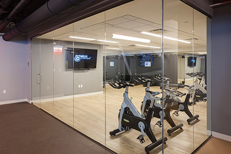Gym facilities - 1N4 Williamsburg New York