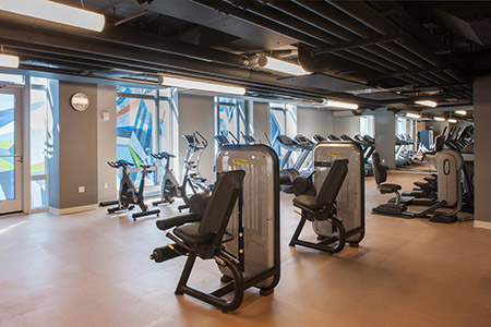 Fitness room - 1N4 Williamsburg New York