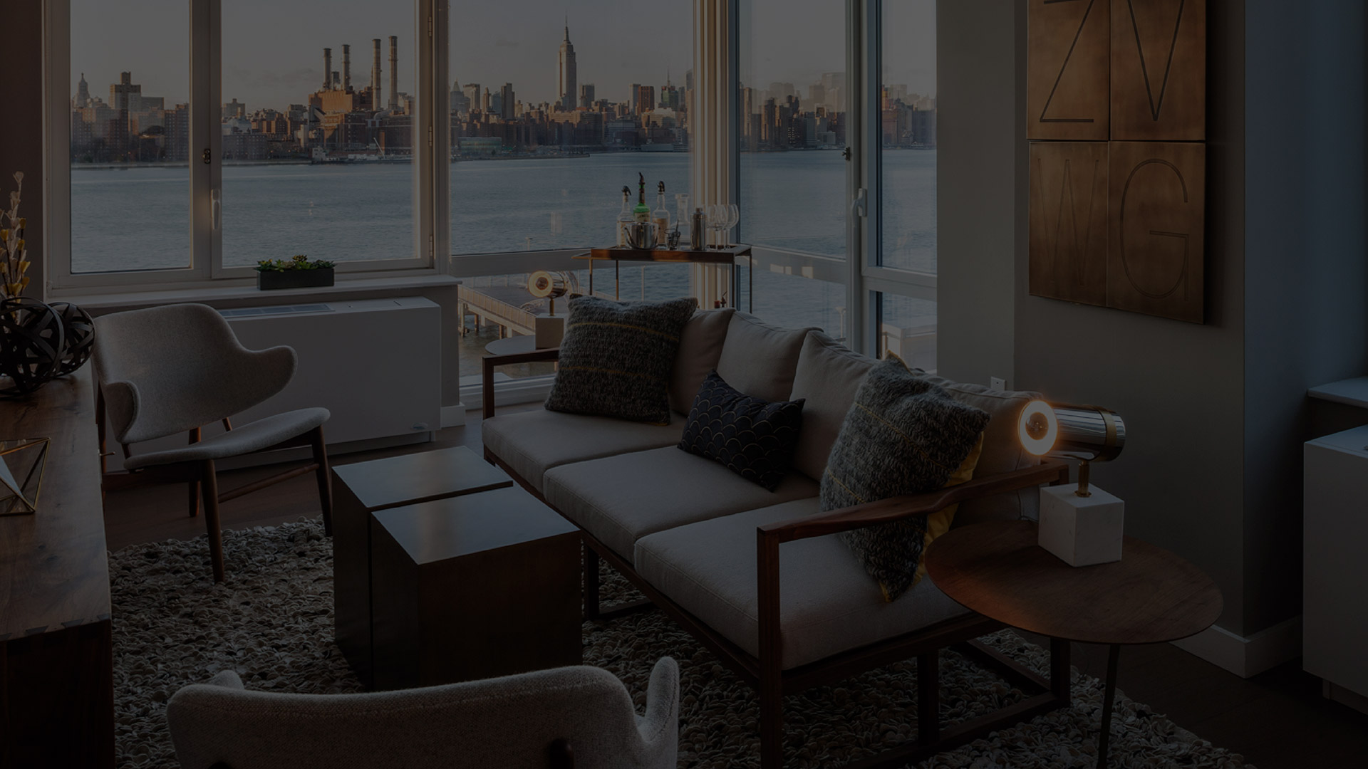 Apartment with view of New York skyline - 1N4 Williamsburg New York